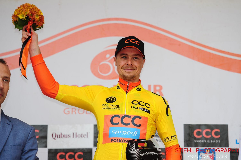 Jan Tratnik vince la prima tappa del CCC Tour