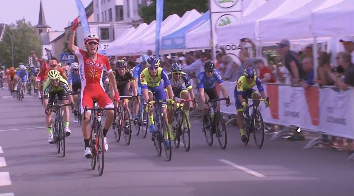 Christophe Laporte vince la prima tappa del Tour de Luxembourg 2018