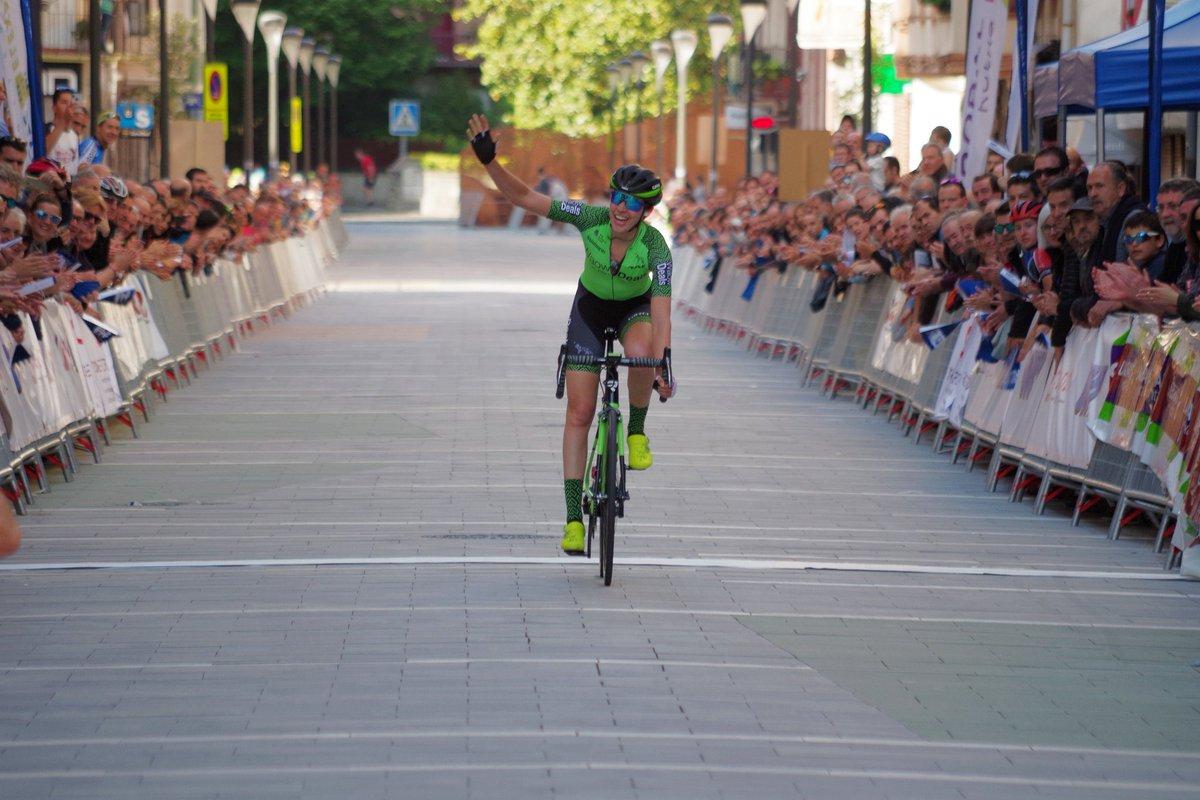 Sabrina Stultiens vince la prima tappa della Emakumeen XXXI. Bira