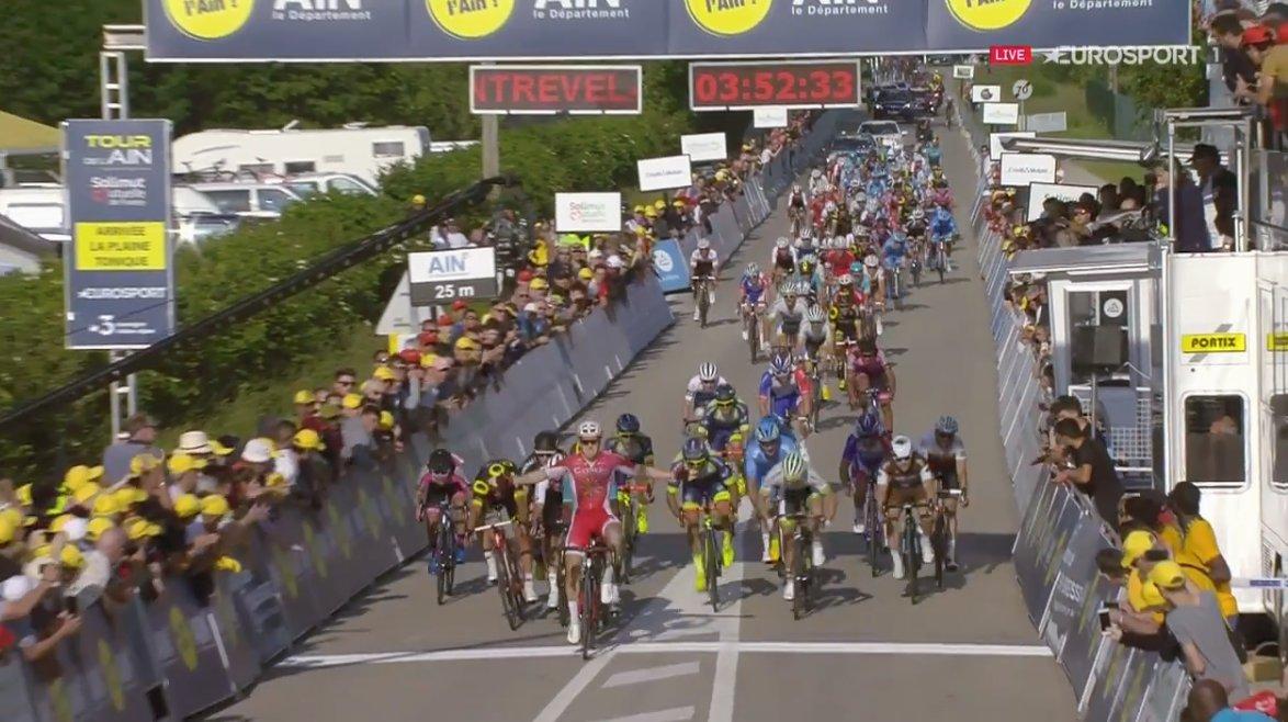 Hugo Hofstetter vince la prima tappa del Tour de l'Ain