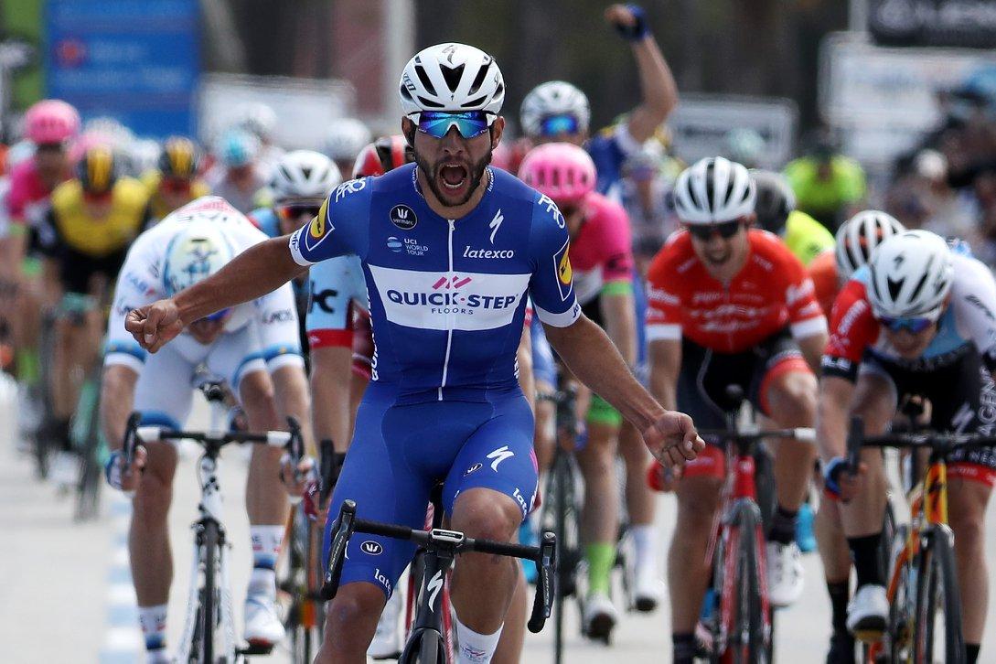 Fernando Gaviria vince la prima tappa del Tour of California 2018