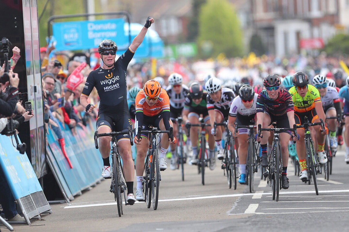 Kirsten Wild vince la prima tappa del Tour de Yorkshire Womens Race