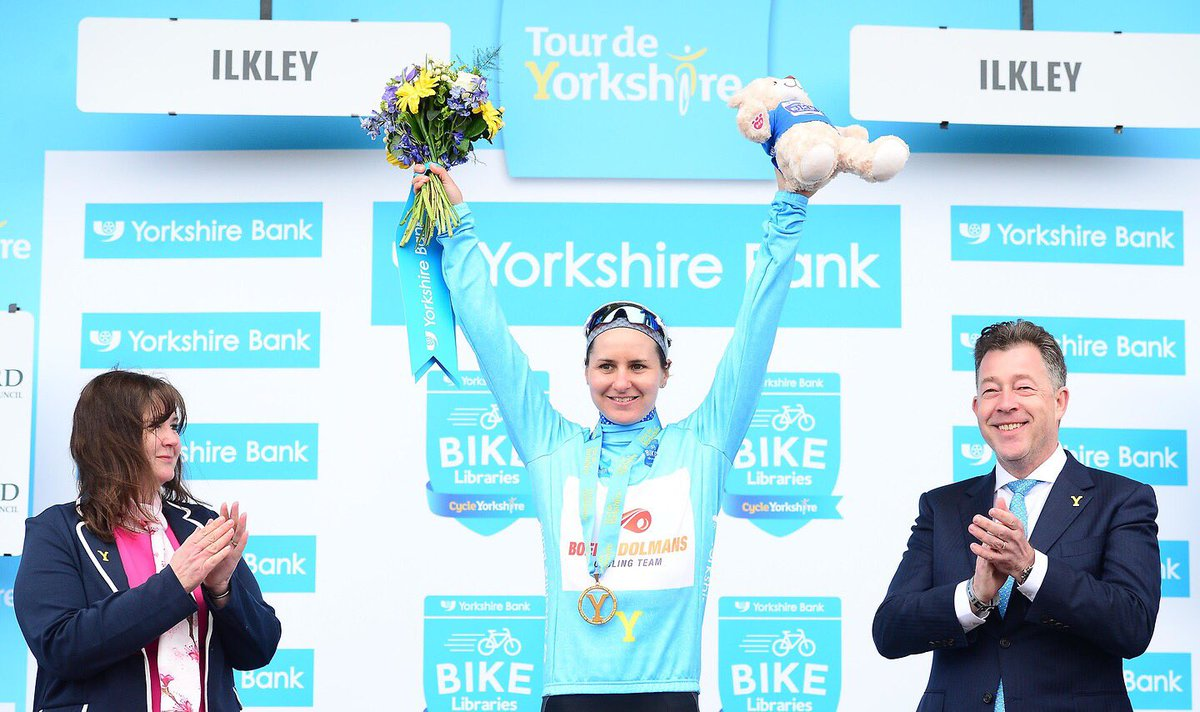 Megan Guarnier vince la classifica finale del Tour de Yorkshire Womens Race 2018