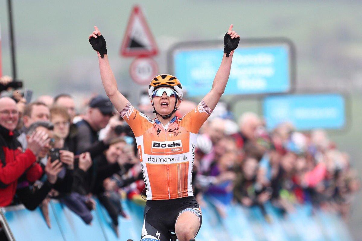 Megan Guarnier vince l'ultima tappa e la classifica finale del Tour de Yorkshire Womens Race 2018
