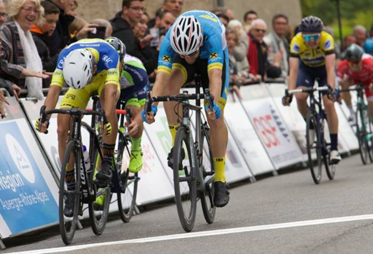 Filippo Fortin vince la seconda tappa della Rhône-Alpes Isère Tour
