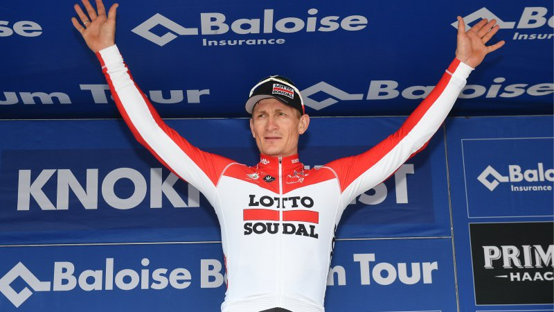 André Greipel vince anche la seconda tappa del Belgium Tour 2018