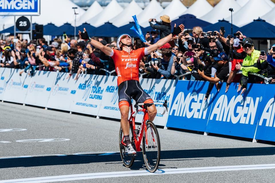 Toms Skujins vince la terza tappa del Tour of California