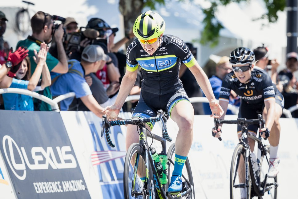 Kendall Ryan vince la prima tappa del Women's Tour of California