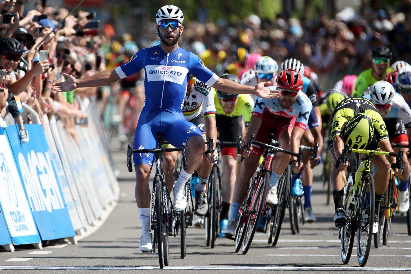 Fernando Gaviria vince la quinta tappa del Tour of California 2018