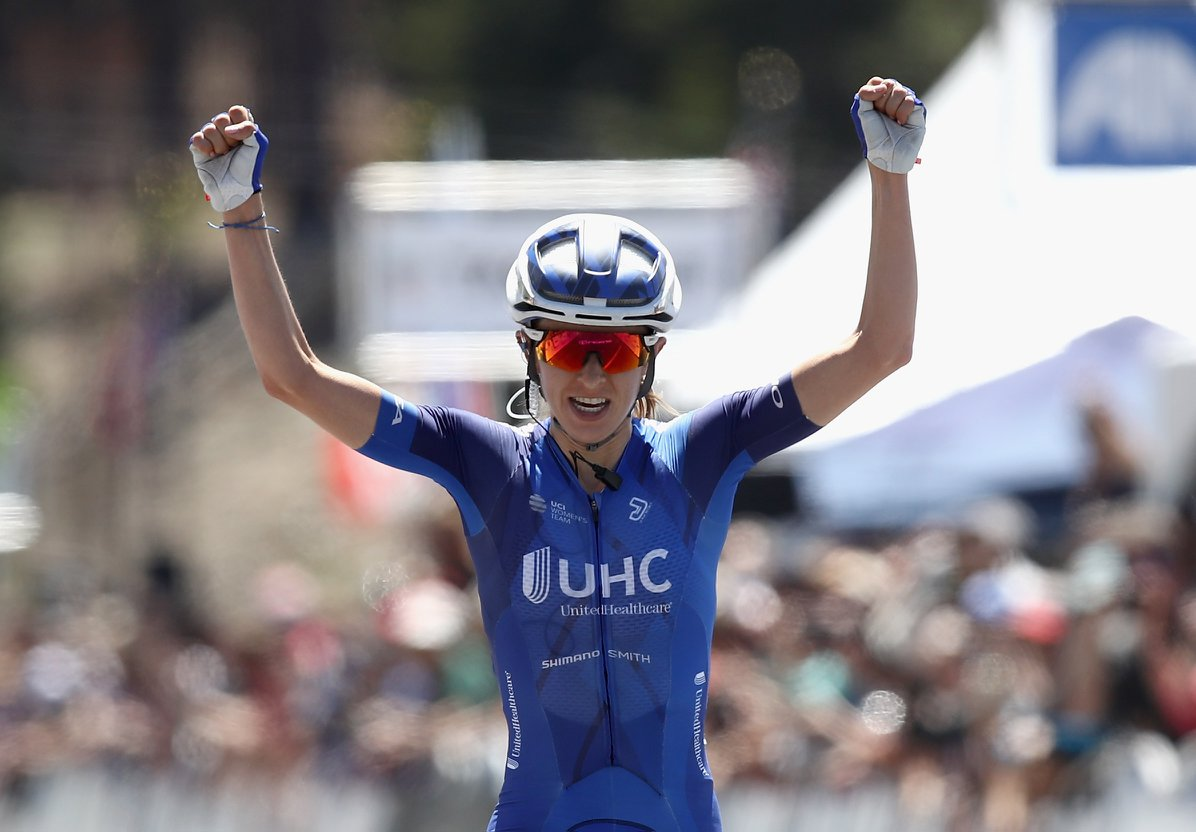 Katharine Hall vince la seconda tappa del Tour of California femminile