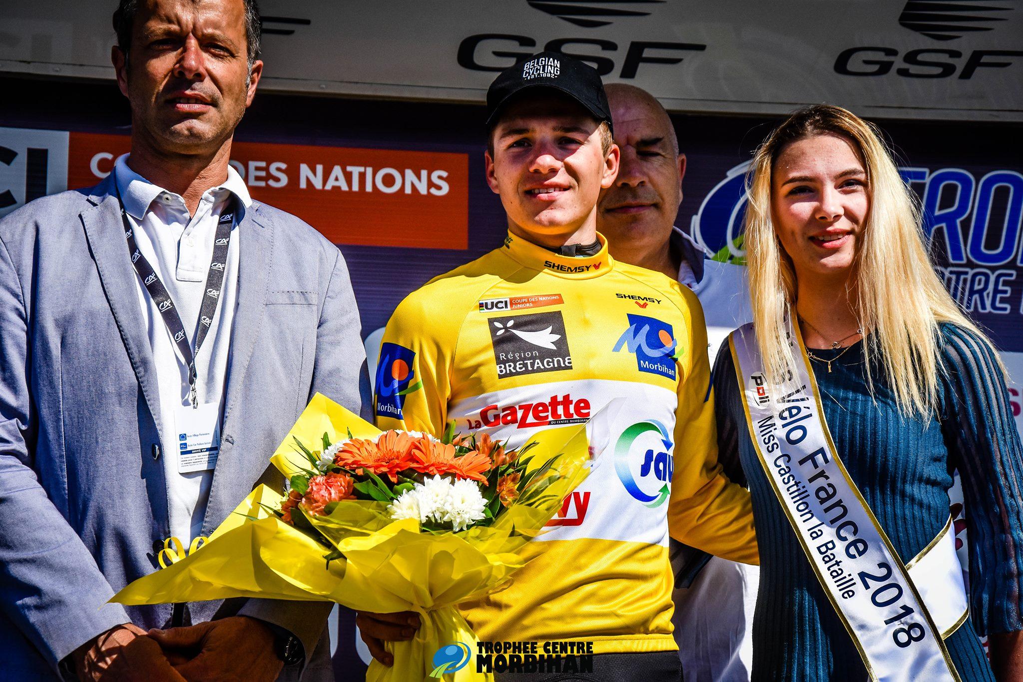 Remco Evenepoel vince il Trophée Centre Morbihan