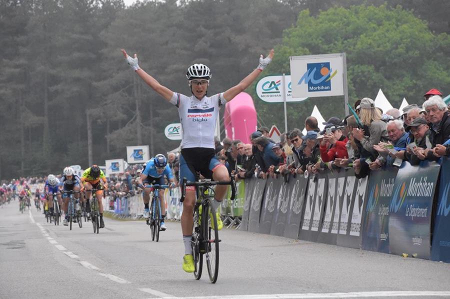 Ashleigh Moolman vince anche il Grand Prix de Plumelec-Morbihan Dames