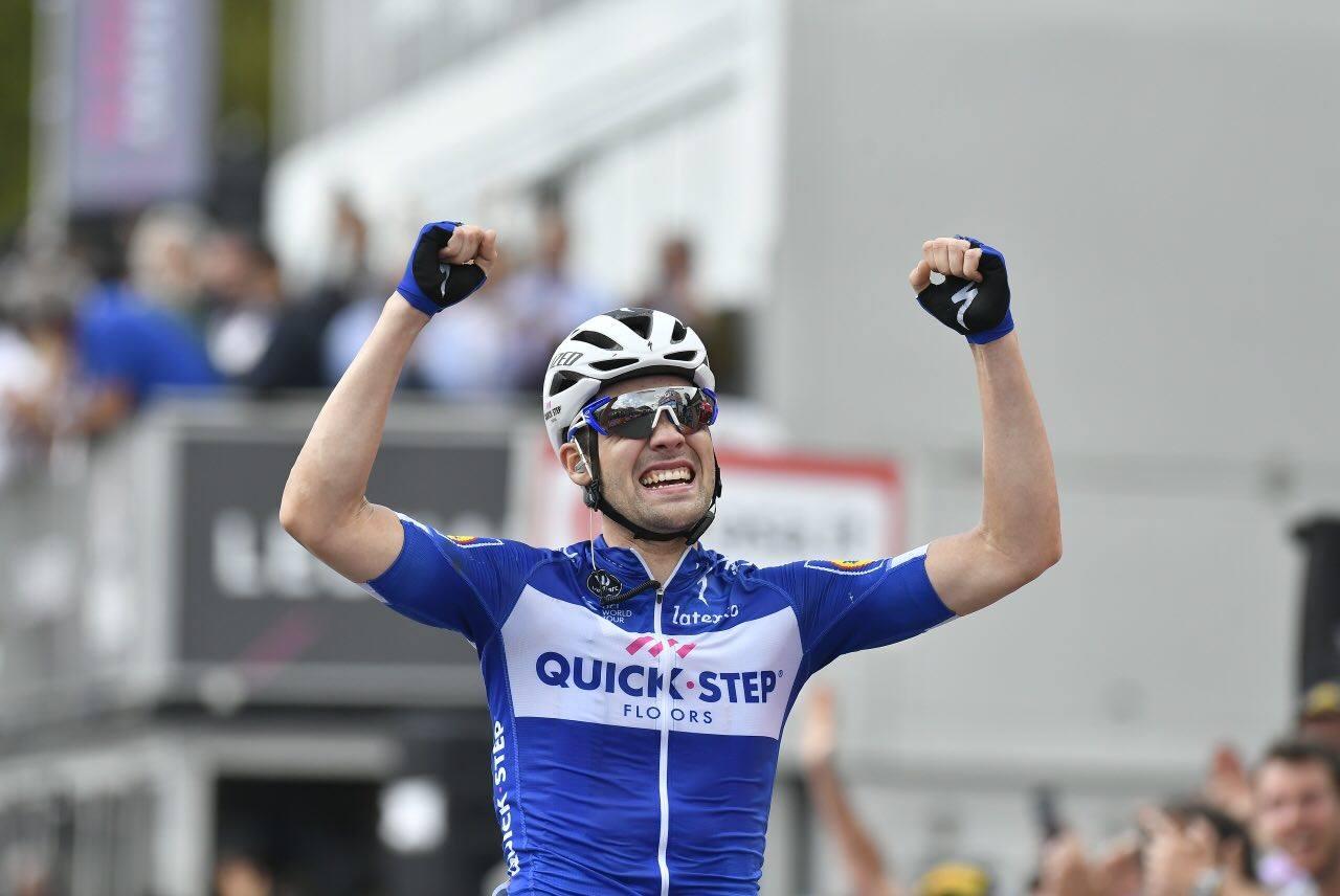 Maximilian Schachmann vince a Prato Nevoso la 18/a tappa del Giro d'Italia 2018