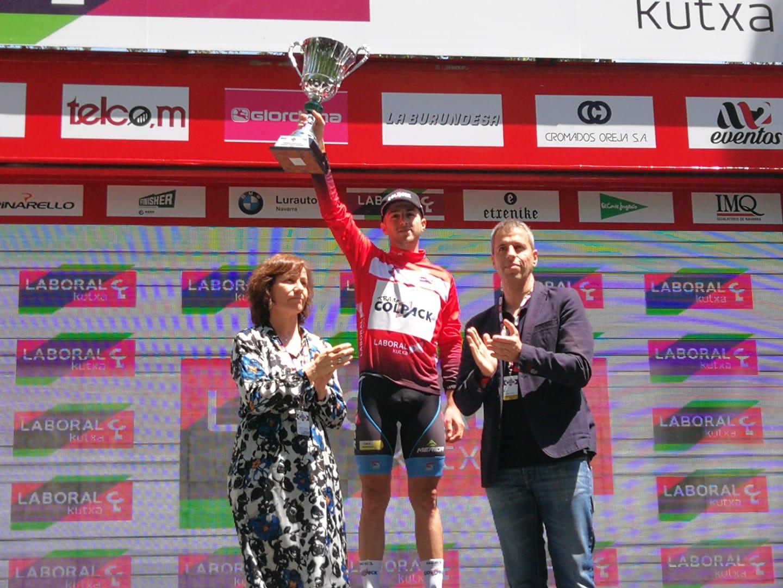 Francesco Romano vincitore della Vuelta a Navarra 2018