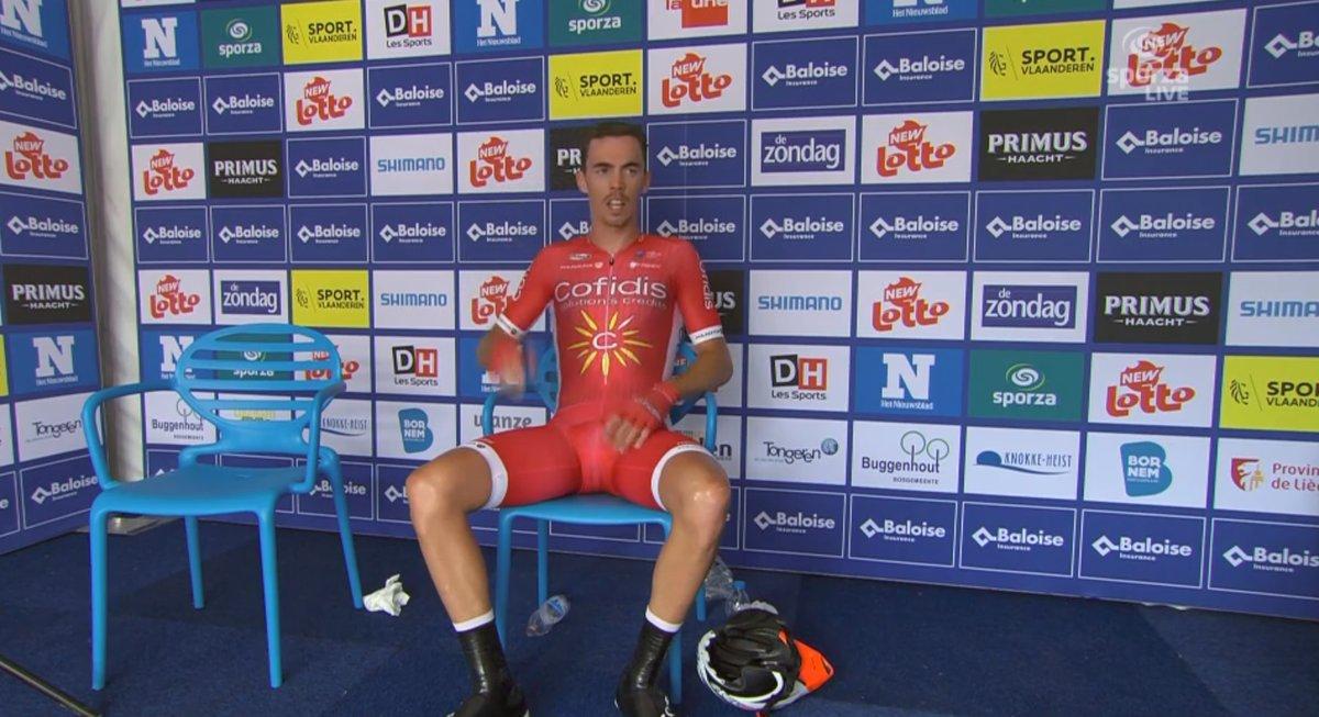 Christophe Laporte ha vinto la terza tappa a cronometro del Belgium Tour