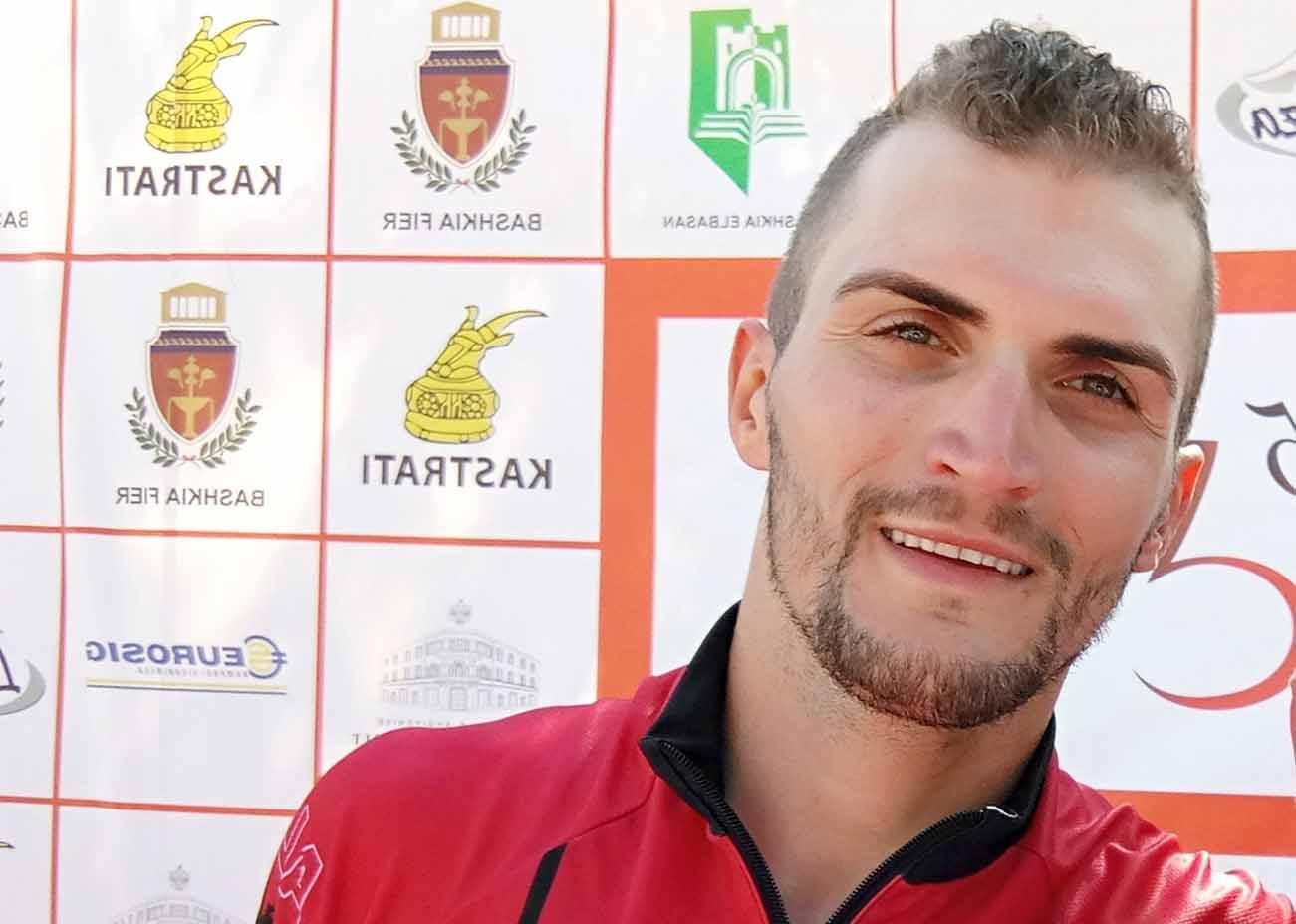 Giuliano Kamberaj vincitore della terza tappa del Tour of Albania 2018