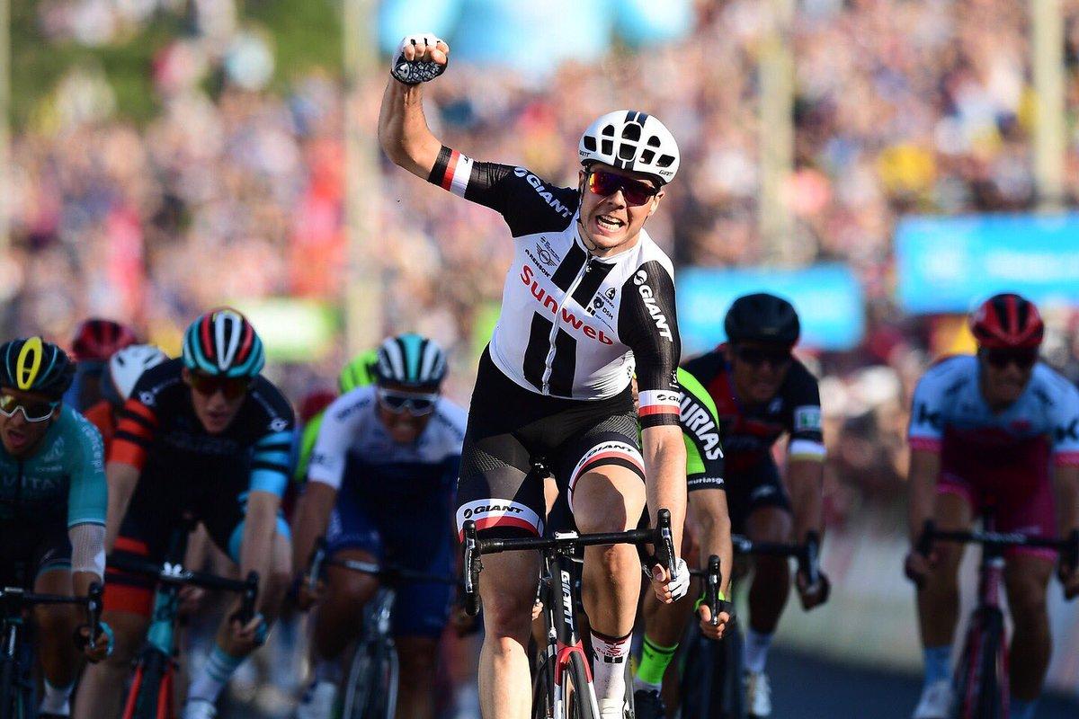 Max Walscheid vince la terza tappa del Tour de Yorkshire