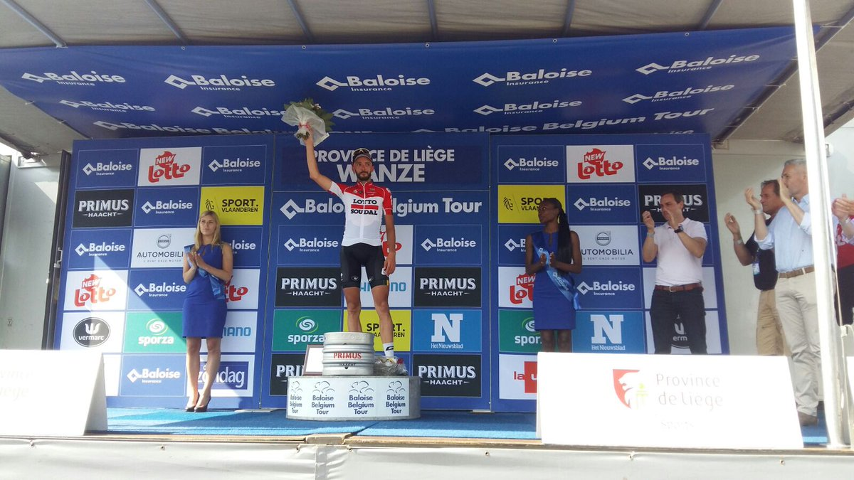 Jelle Vanendertvince la quarta tappa del Belgium Tour 2018