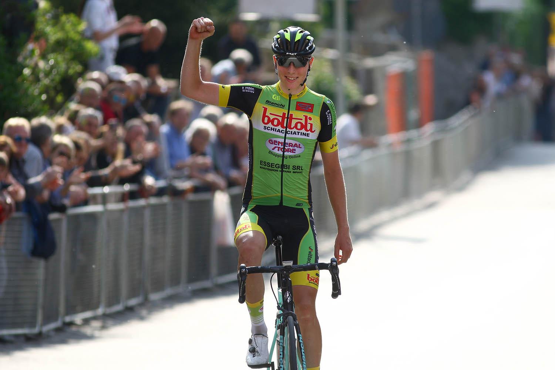 Rasmus Byriel Iversen vince il Trofeo Learco Guerra 2018
