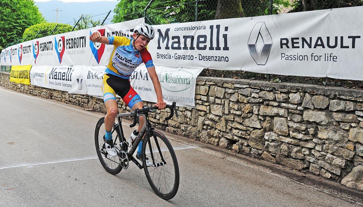 Karel Vacek vince la Brescia - Monte Magno 2018