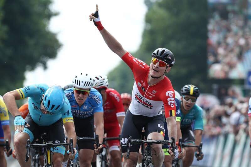 André Greipel vince la prima tappa del Belgium Tour