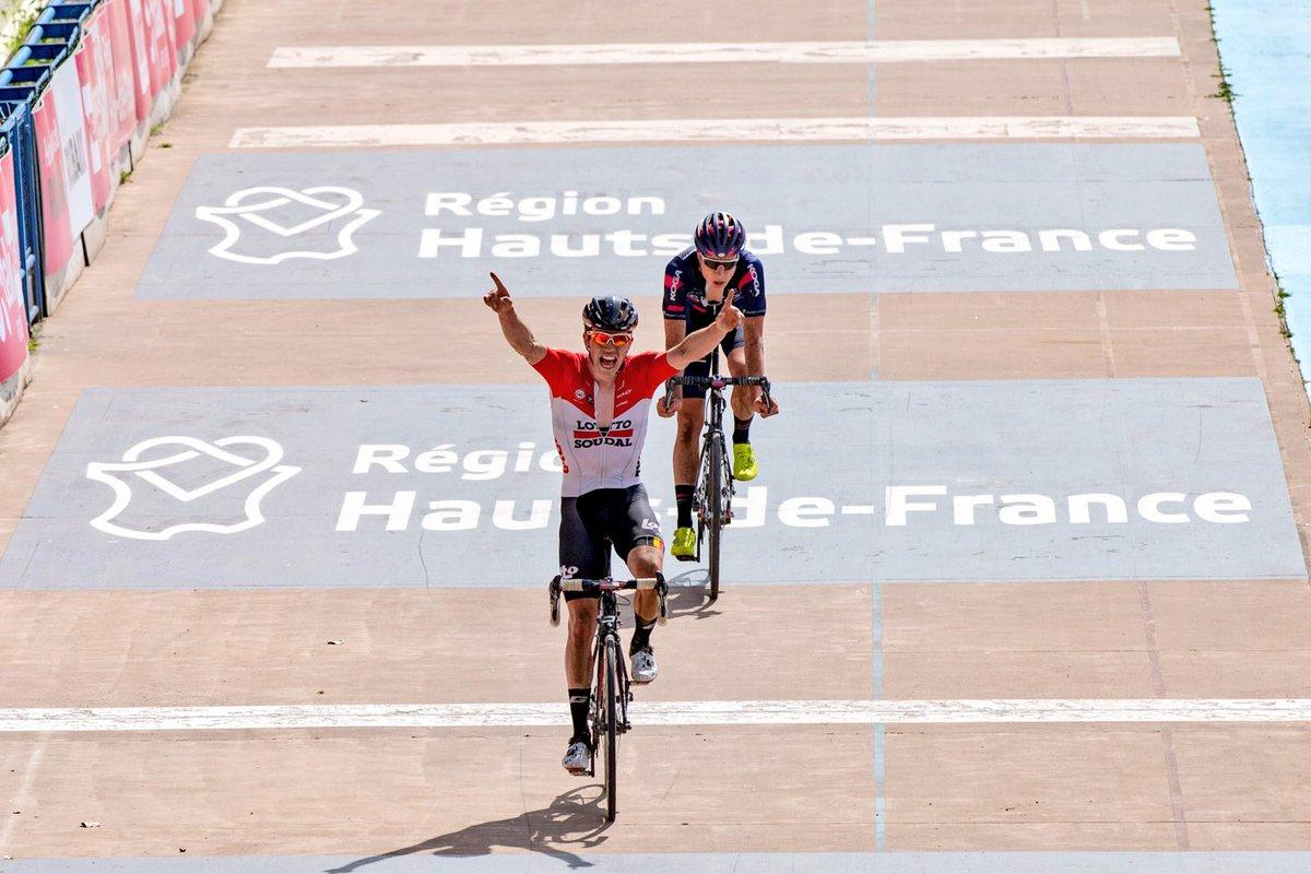 Stan Dewulf vince la Parigi-Roubaix Espoirs 2018