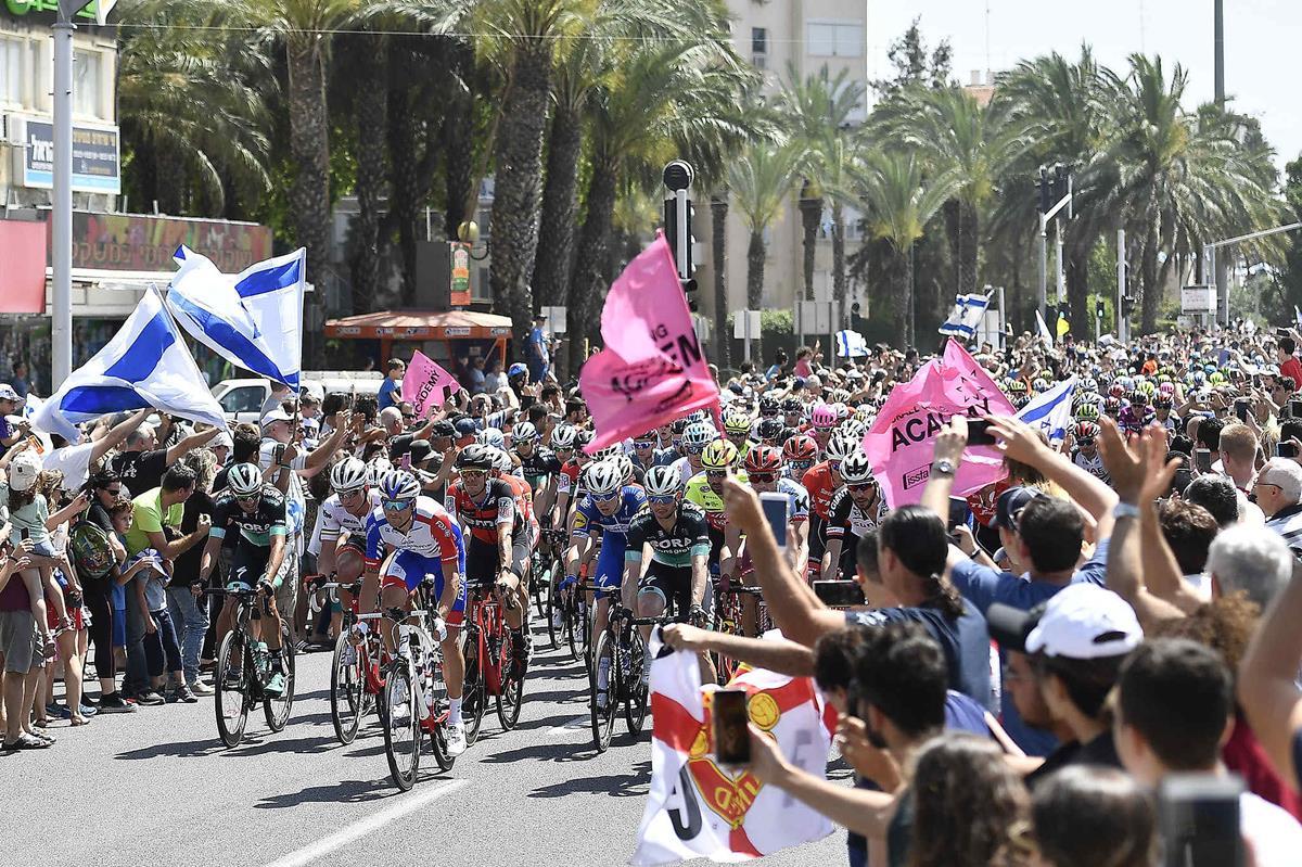 Entusiasmo in Israele per il Giro d'Italia