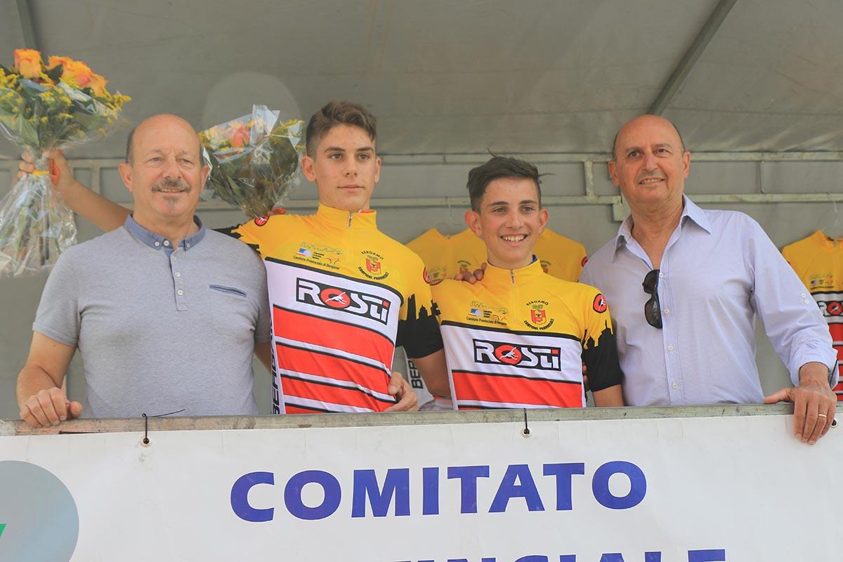 Matteo Carissimi e Simone Gualdi campioni provinciali bergamaschi tra gli Esordienti