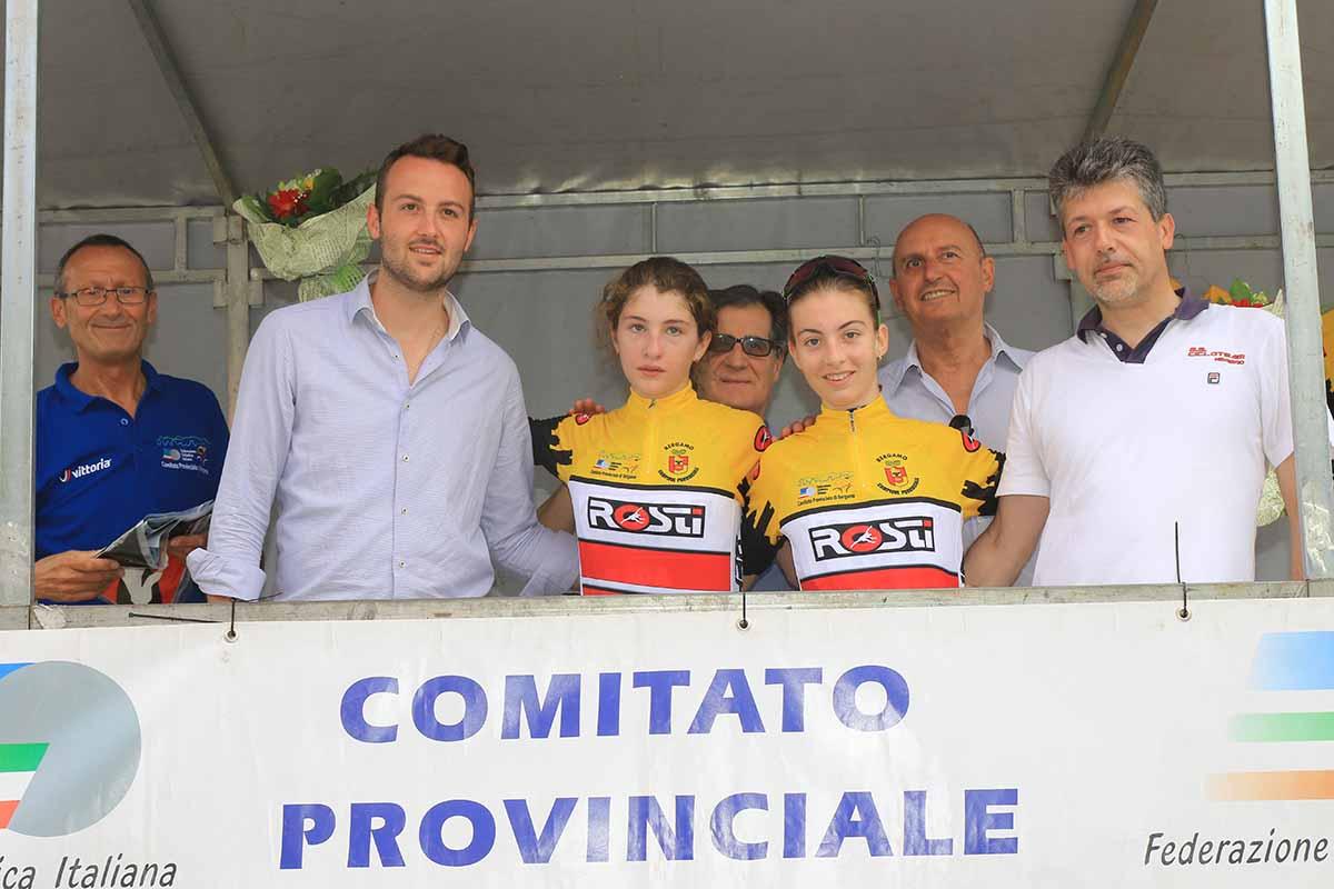 Marta Pavesi e Francesca Pellegrini campionesse provinciali Donne Esordienti