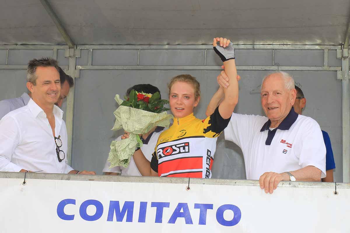 Greta Tebaldi campionessa bergamasca Donne Allieve 2018