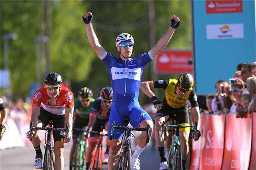 Fabio Jakobsen vince la prima tappa del Tour des Fjords