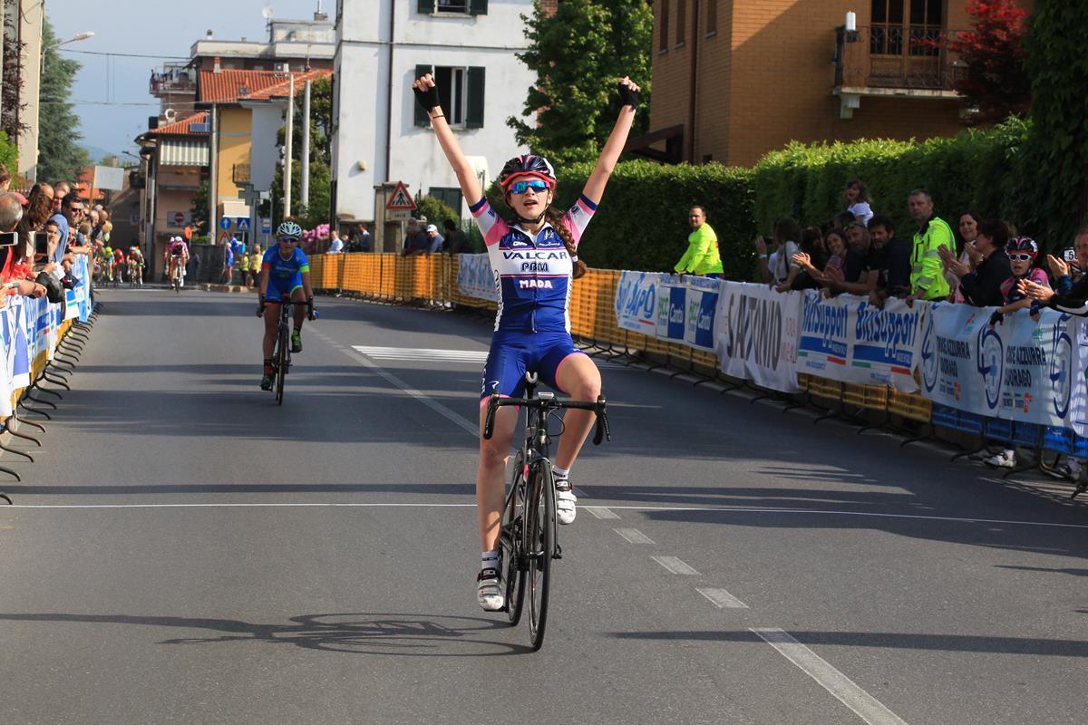 La vittoria dell'esordiente Marta Pavesi a Cadorago