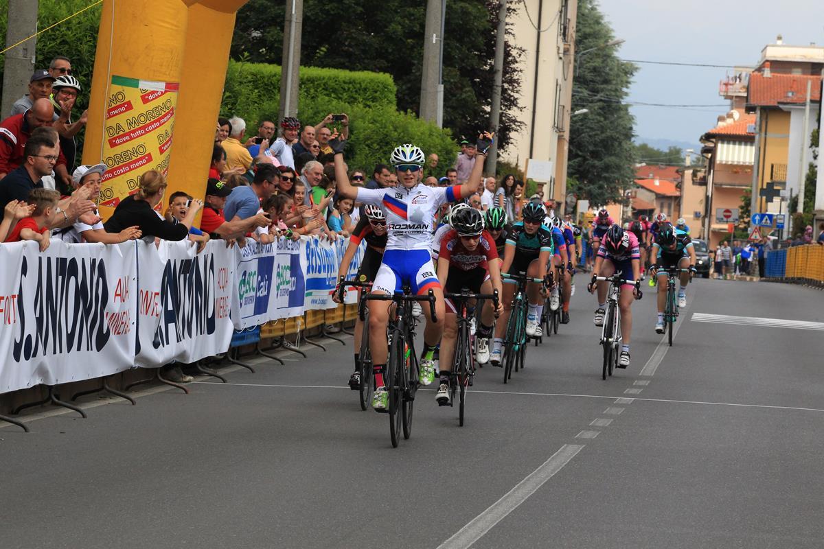 La vittoria di Eleonora Camilla Gasparrini a Cadorago