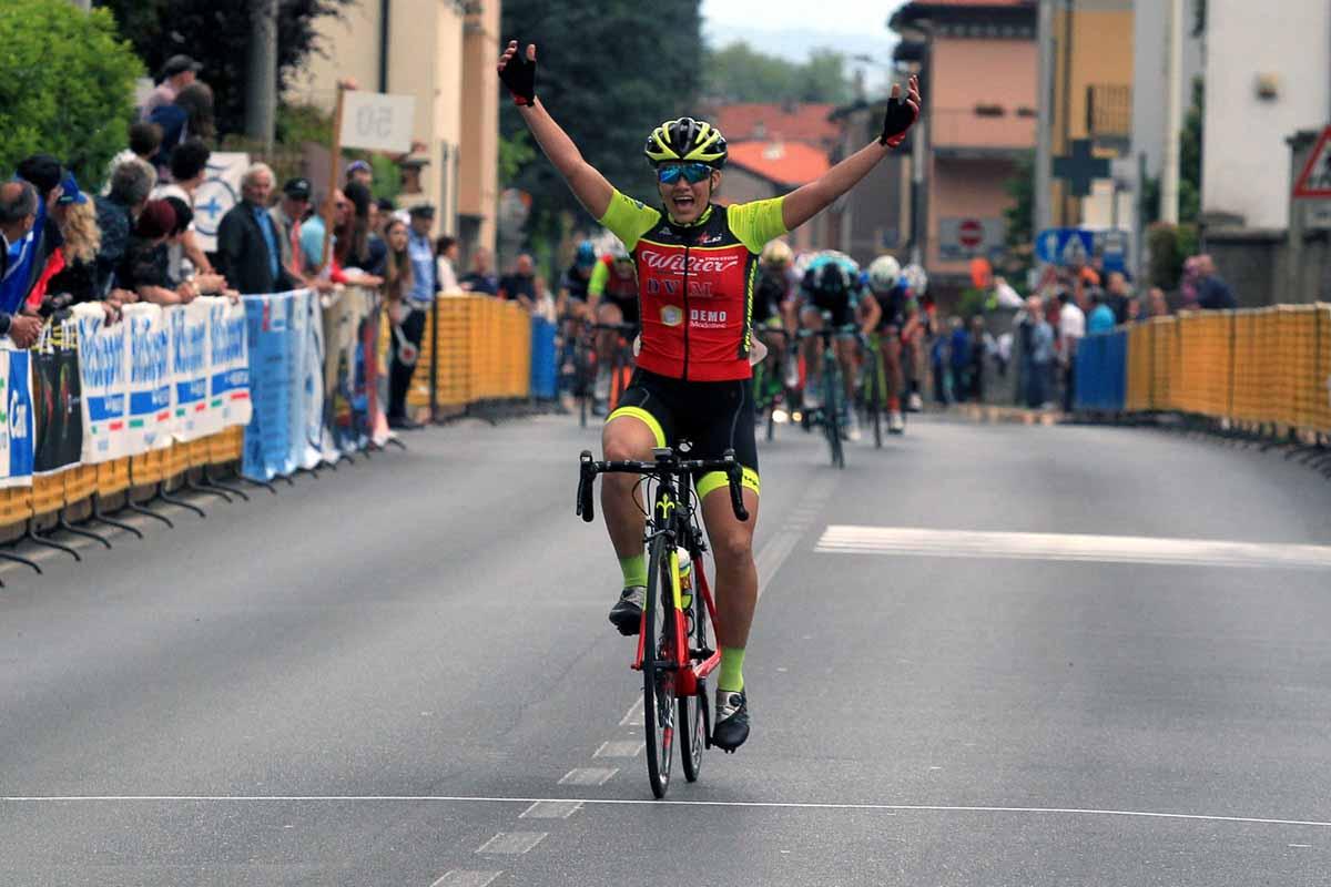 La vittoria di Giorgia Bariani a Cadorago