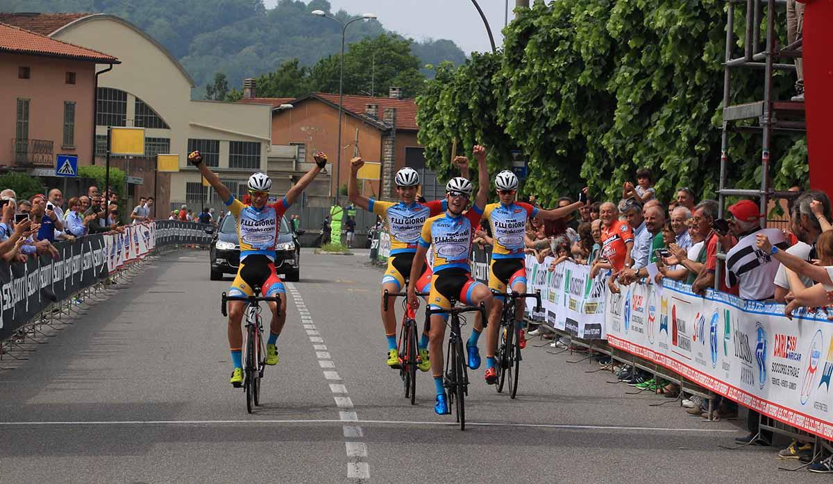 Allievi del Team Giorgi in trionfo a Nembro