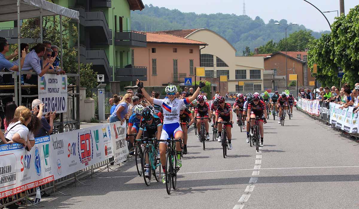 La vittoria di Eleonora Gasparrini a Nembro