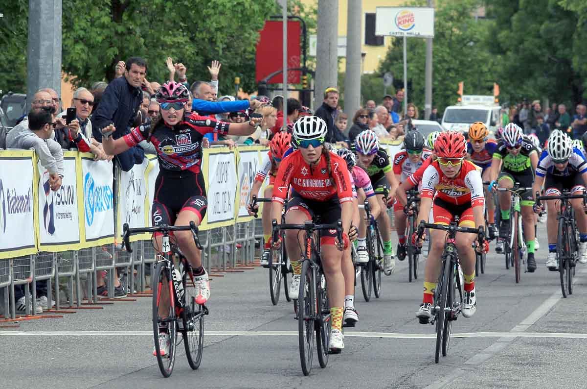 La vittoria di Giulia Raimondi a Castel Mella