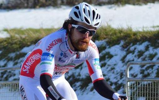 Nicola Gaffurini vincitore della quarta tappa del Tour of Albania