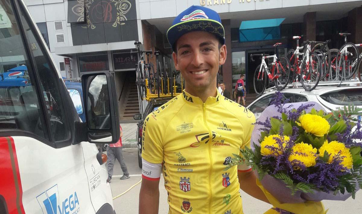 Michele Gazzara vincitore del Tour of Albania 2018