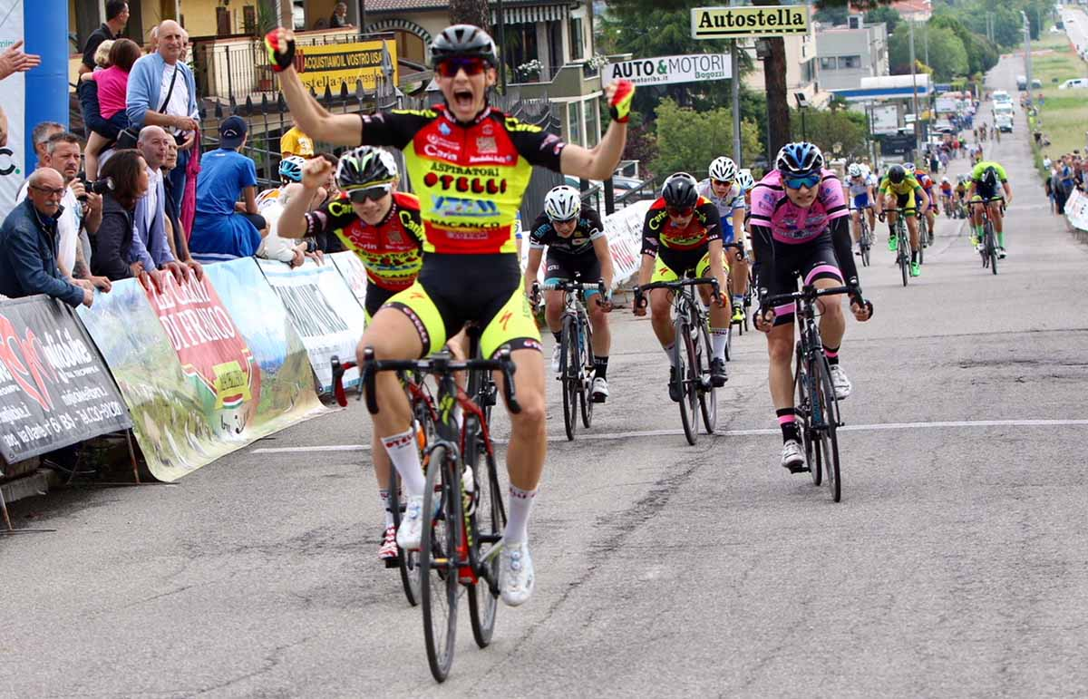 Francesco Calì vince a San Vigilio di Concesio