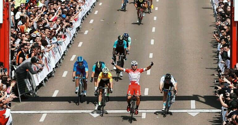 Matteo Malucelli vince la seconda tappa della Vuelta Aragon