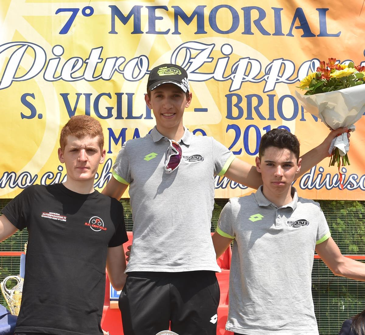 Il podio della San Vigilio - Brione 2018