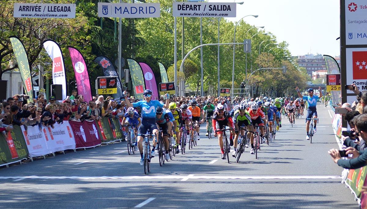 Carlos Barbero vince l'ultima tappa della Vuelta Ciclista Comunidad de Madrid 2018