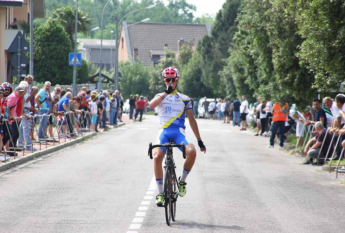La vittoria di Andrea Bono a Rescaldina