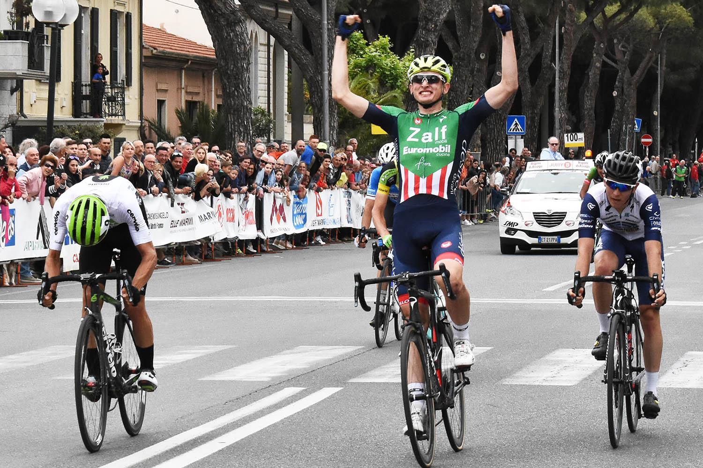 Gregorio Ferri vince il Gran Premio Industrie del Marmoa Carrara 2018