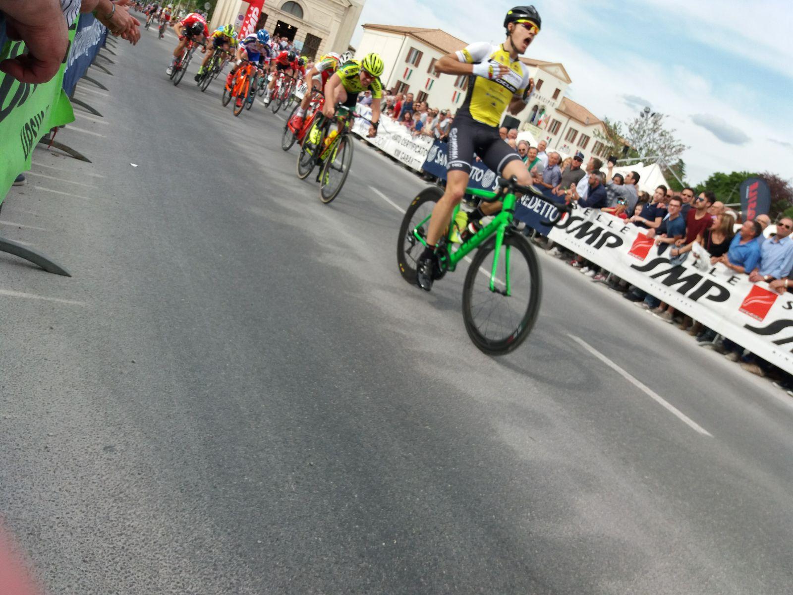 Edoardo Zambanini vince il Gp Badoere 2018