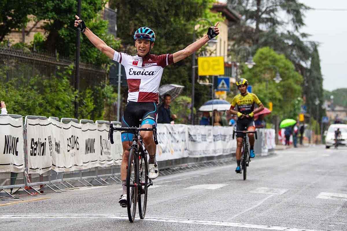 Andrea Bagioli vince l'ultima tappa e la classifica finale del Toscana Terra di Ciclismo 2018