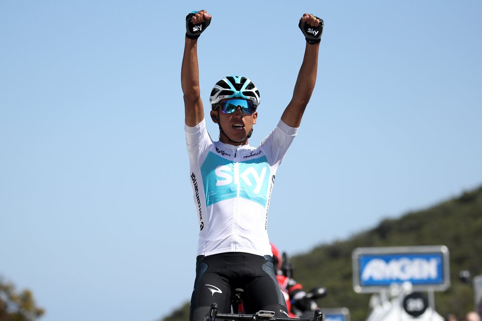 Egan Bernal vince la seconda tappa del Tour of California