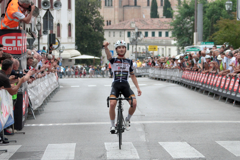 Samuele Carpene vince a Pieve di Soligo il Trofeo Guido Dorigo 2018