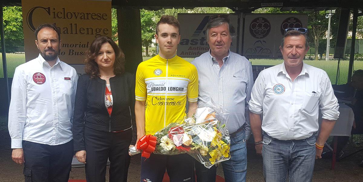 Giorgio Cometti vincitore della gara di Cardano al Campo